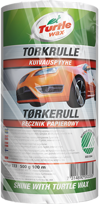 Turtle Wax Torkrulle 500g