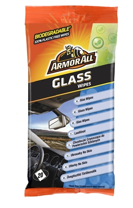 Armor All Glass Wipes Flatpack